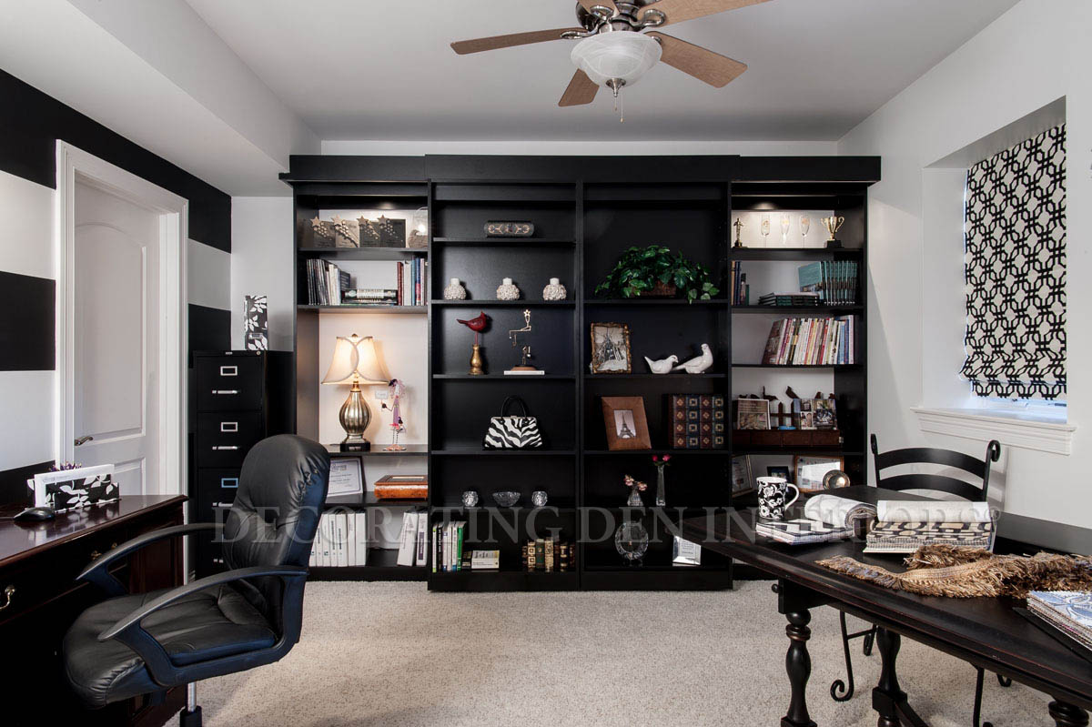 These Book Shelves covert to a Murphy Bed