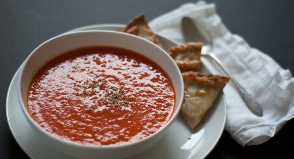 Turmeric-Tomato-Black Pepper Soup image